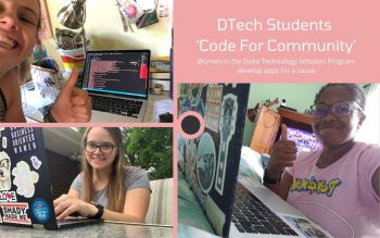 DTech Student 'Code for Community'